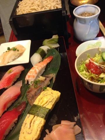 お寿司とおそば