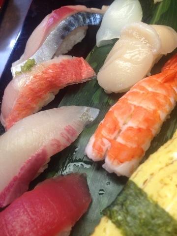 今日はお寿司がよく出ました〜(*^o^*)