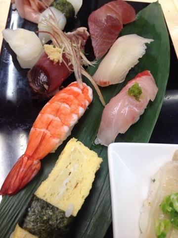 そばやのお寿司