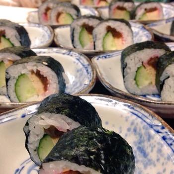 おまけの太巻寿司