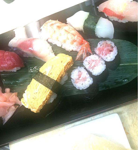 ランチ寿司 作戦会議