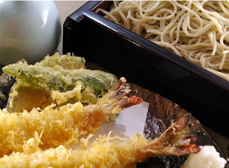 天ぷらとそば・うどん
