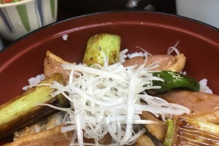 合鴨ステーキ丼セット