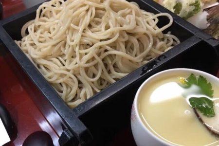 海老と野菜天7種の天ぷら昼膳