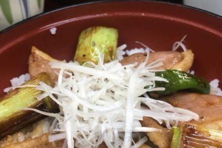 合鴨ステーキ丼