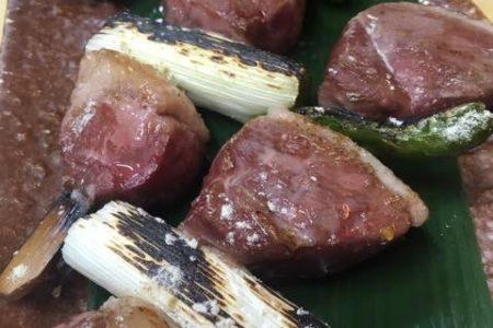 合鴨の串焼き