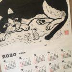 繪畑浩二先生の版画カレンダー