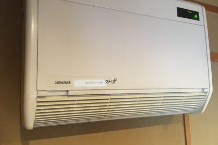 ウィルス対応空気清浄機