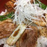 合鴨ロース丼