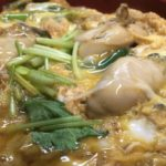 牡蠣の玉子丼セット